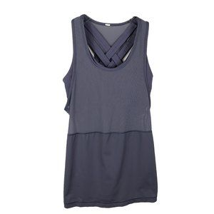 Lululemon Womens Double Criss Cross Strap Tank Top